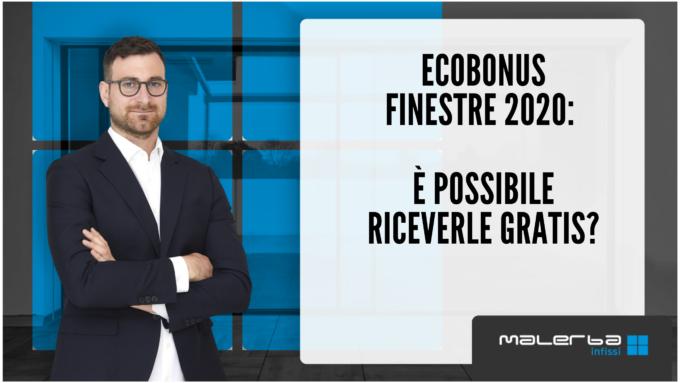 ecobonus finestre 2020