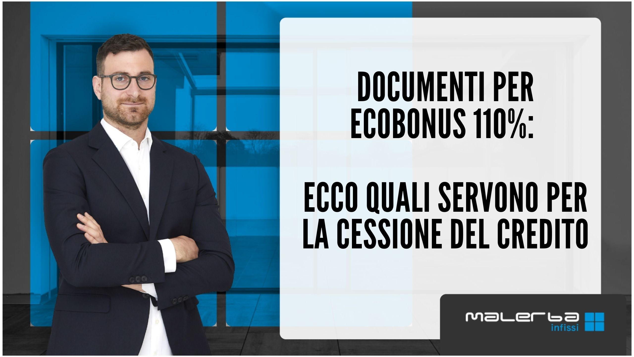 Documenti per ecobonus 110