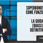 Superbonus 110 come funziona