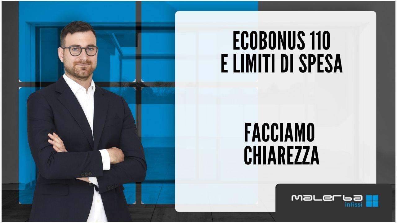 limiti di spesa ecobonus 110
