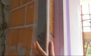 monoblocco isolante finestra profilo bianco