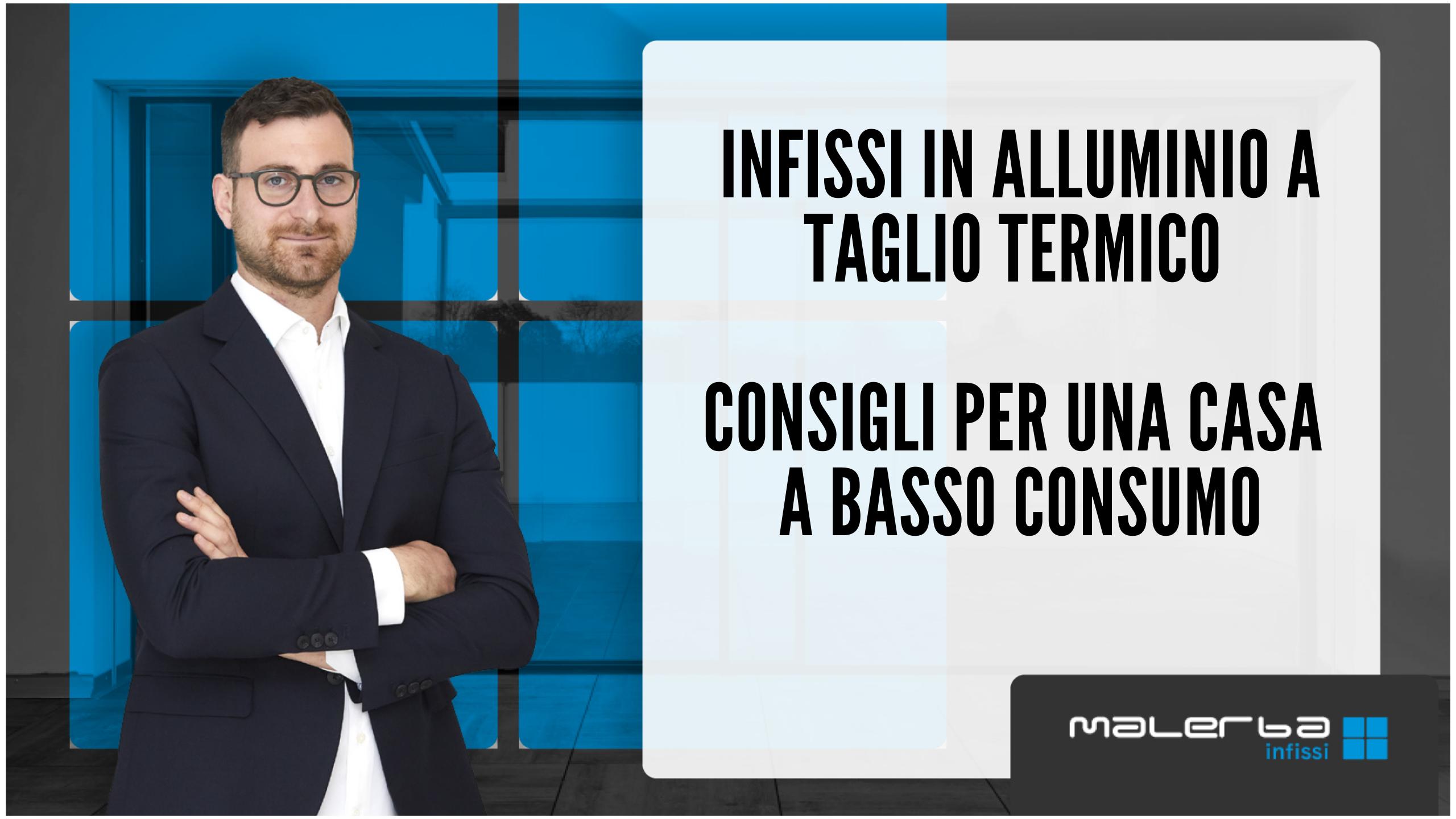 Infissi in alluminio a taglio termico Padova